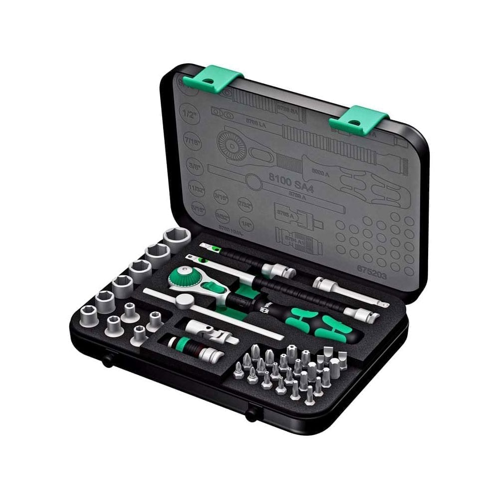 Wera High-Quality and Top Line Zyklop Sets